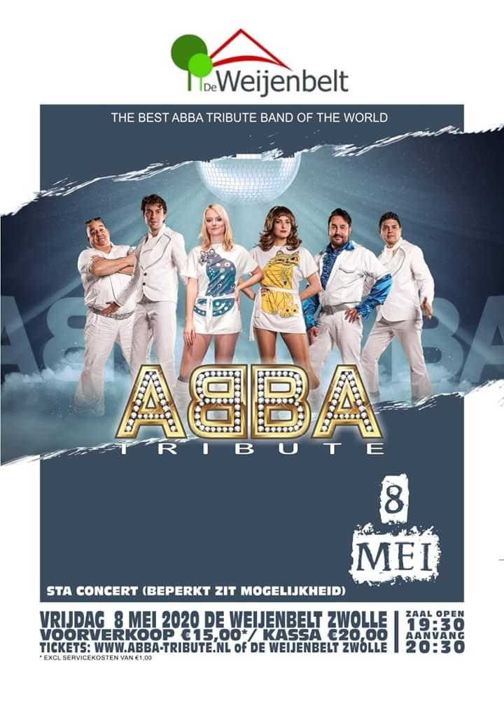 8 Mei: Abba-tribute